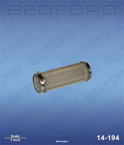 14-194 100 Mesh Manifold Filter  Same as Graco 167054
