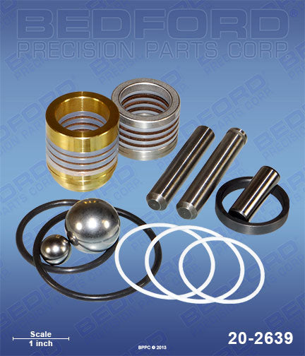 Bedford 20-2639 Packing Kit  Same as Graco 246341