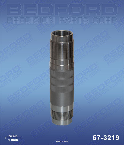 Bedford 57-3219 Hardened Stainless Steel Pump Cylinder  3500 4500 4900 Same as Speeflo 107-946 & 107-936