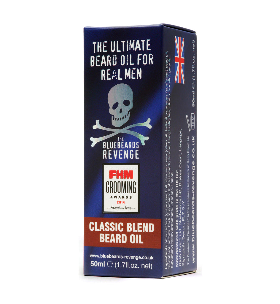 Bluebeards Revenge Classic Blend Beard Oil