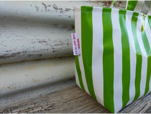 lunch bags - oilcloth fabric