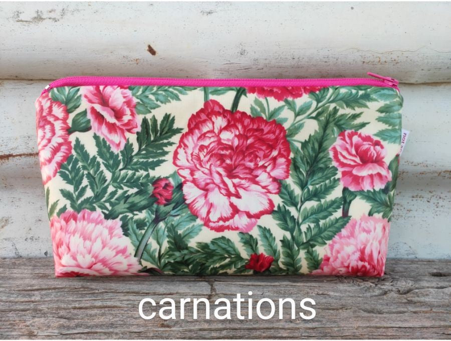 make-up bags - laminated fabric
