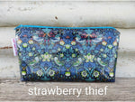 make-up bags - liberty laminated fabric