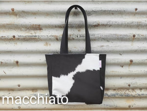 shopper bags - faux cowhide