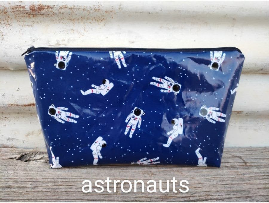 toiletry bags - laminated fabric