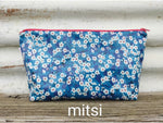 toiletry bags - liberty laminated fabric