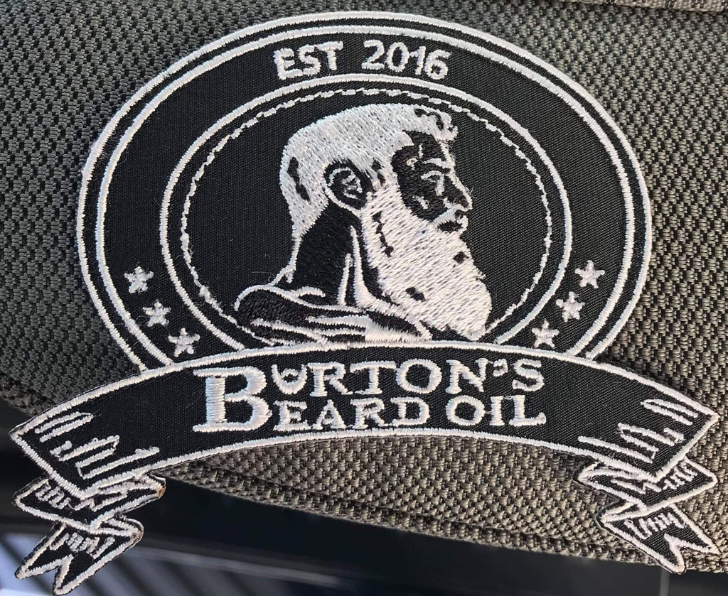 Burton's Beard Oil Emblem Patch - Burton's Beard Oil
