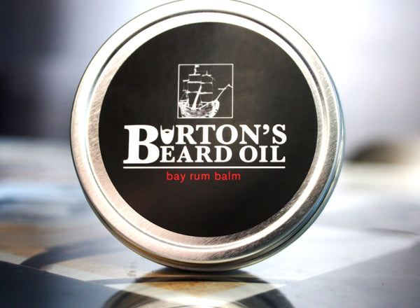 Bay Rum Beard Balm - Burton's Beard Oil