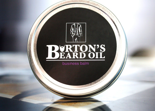Business Premium Beard Balm - Burton's Beard Oil