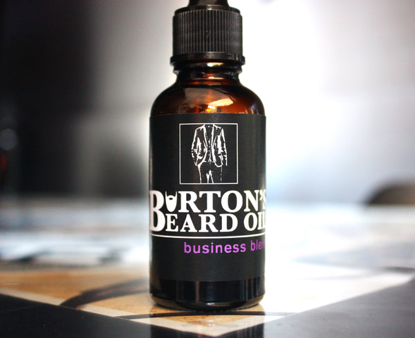 Business Premium Beard Oil - Burton's Beard Oil