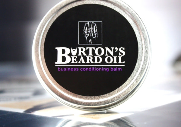 Business Premium Conditioning Balm - Burton's Beard Oil