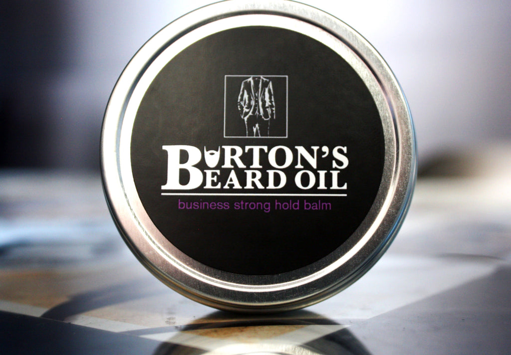 Business Strong Hold Beard Balm - Burton's Beard Oil