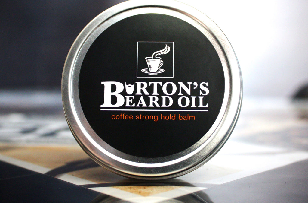 Coffee Strong Hold Balm - Burton's Beard Oil