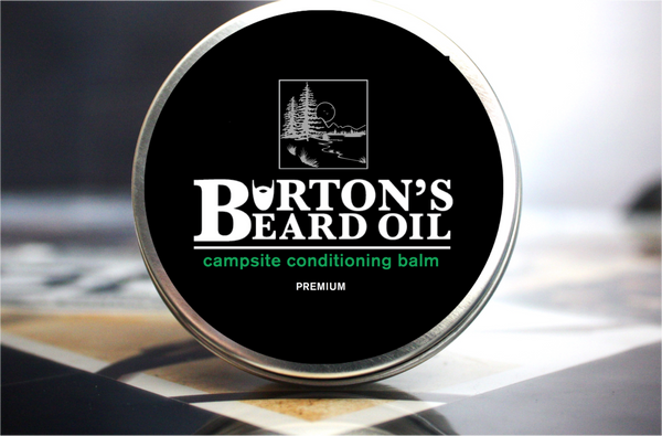Campsite Premium Conditioning Beard Balm - Burton's Beard Oil