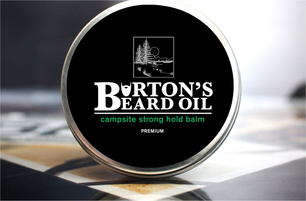 Campsite Premium Strong Hold Beard Balm - Burton's Beard Oil