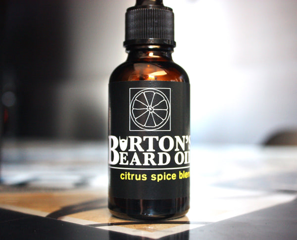 Citrus Spice Beard Oil - Burton's Beard Oil
