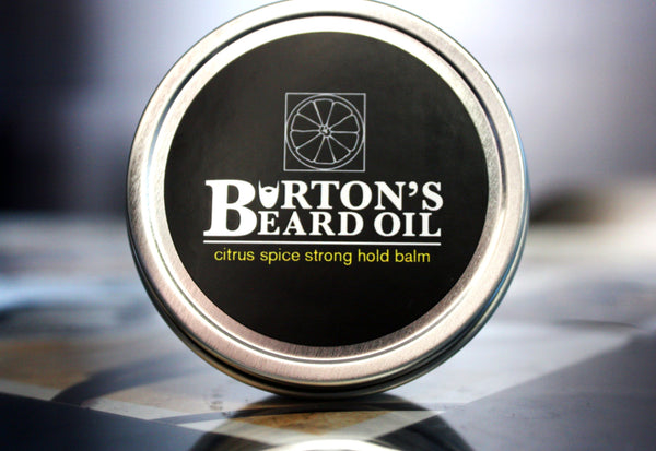 Citrus Spice Strong Hold Beard Balm - Burton's Beard Oil