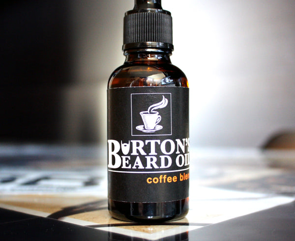 Coffee Beard Oil - Burton's Beard Oil