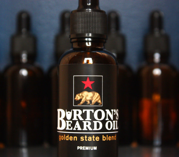 Golden State Premium Beard Oil - Burton's Beard Oil