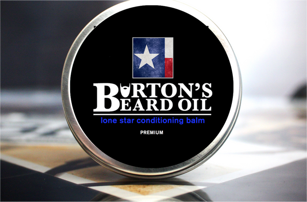 Lone Star Premium Conditioning Balm - Burton's Beard Oil