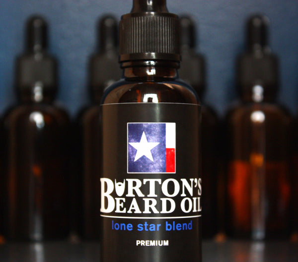 Lone Star Premium Beard Oil - Burton's Beard Oil