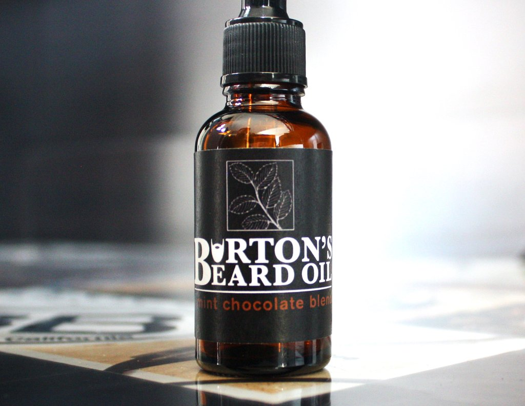 Mint Chocolate Beard Oil - Burton's Beard Oil