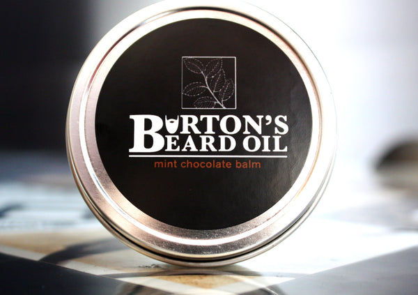 Mint Chocolate Beard Balm - Burton's Beard Oil