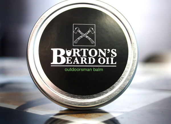 Outdoorsman Beard Balm - Burton's Beard Oil