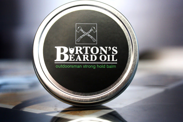 Outdoorsman Strong Hold Beard Balm - Burton's Beard Oil