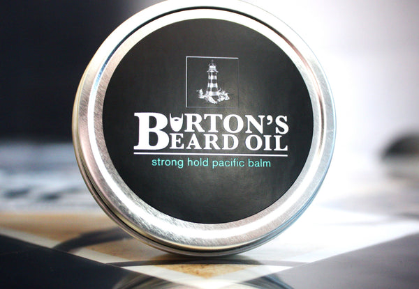 Pacific Strong Hold Beard Balm - Burton's Beard Oil