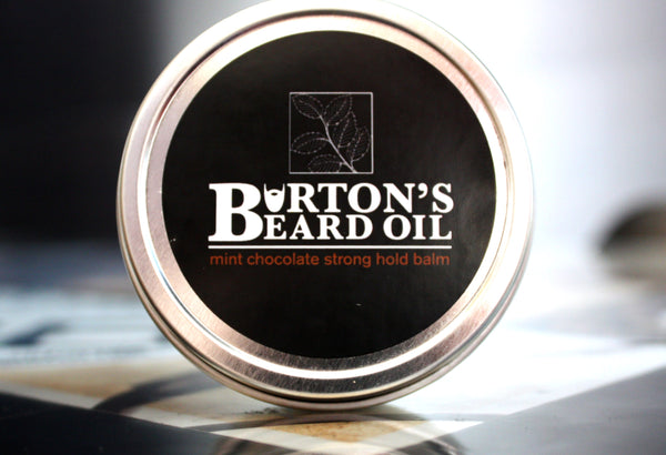 Mint Chocolate Strong Hold Beard Balm - Burton's Beard Oil
