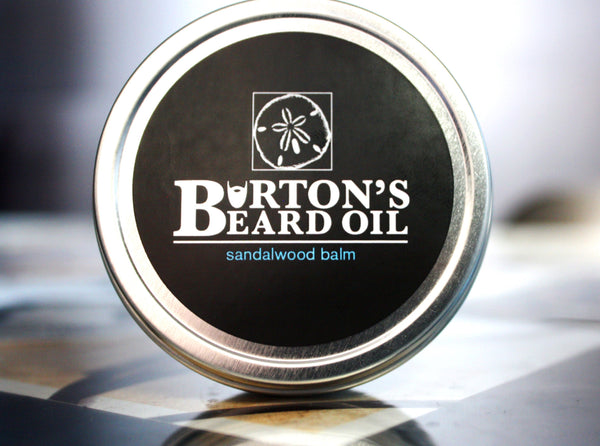 Sandalwood Beard Balm - Burton's Beard Oil