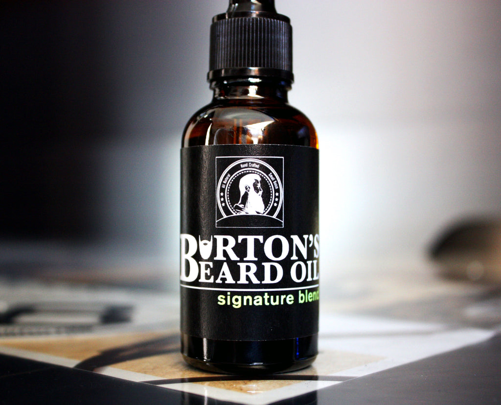 Signature Premium Beard Oil - Burton's Beard Oil