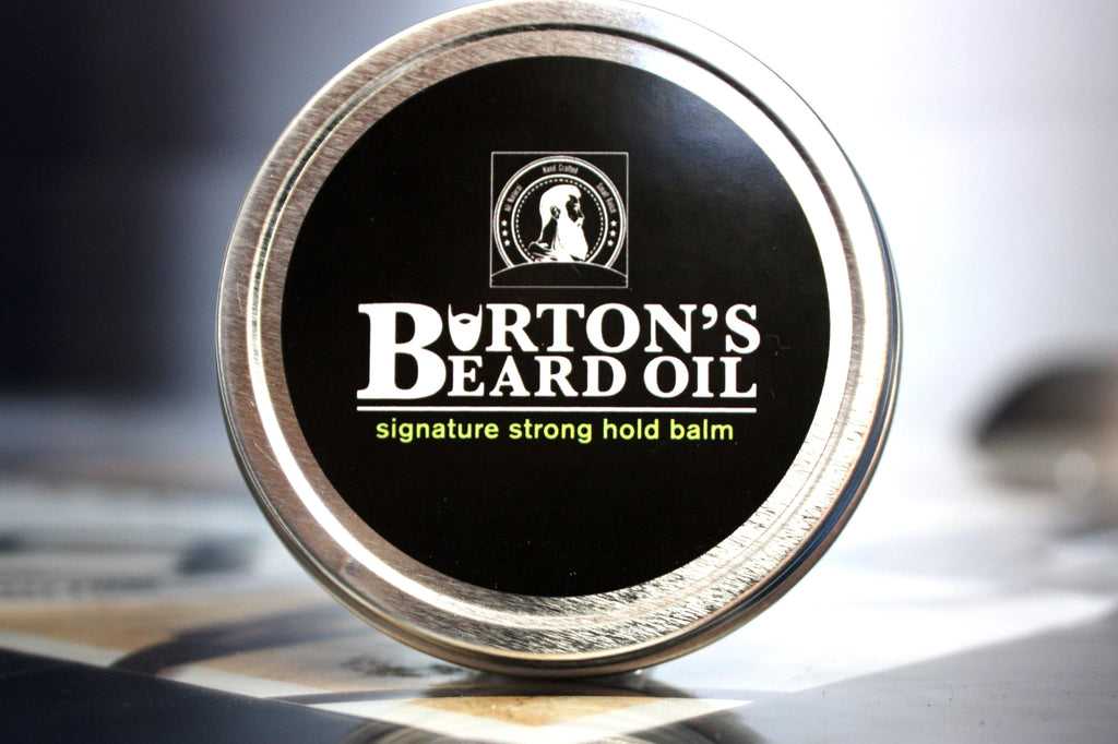 Signature Premium Strong Hold Beard Balm - Burton's Beard Oil