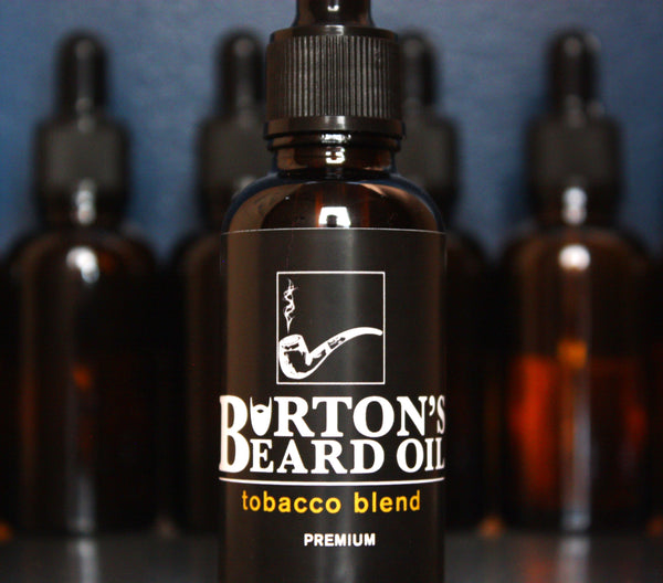 Tobacco Premium Beard Oil - Burton's Beard Oil