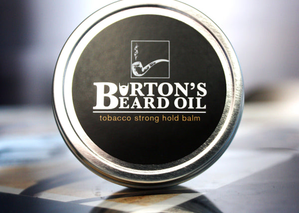 Tobacco Premium Strong Hold Balm - Burton's Beard Oil