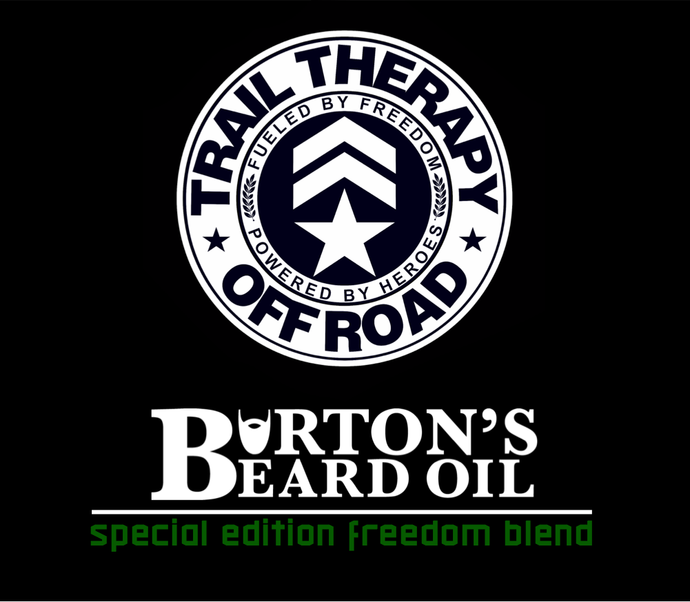 Trail Therapy Off Road Special Edition Freedom Beard Oil - Burton's Beard Oil