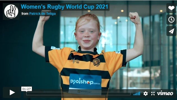 PoolShop.com.au and Women's Rugby World Cup 2021