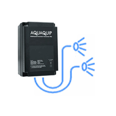 Aquaquip Transformer (2 x 50va) - Poolshop.com.au