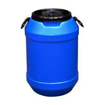 Blue Plastic Drum 60L - Poolshop.com.au