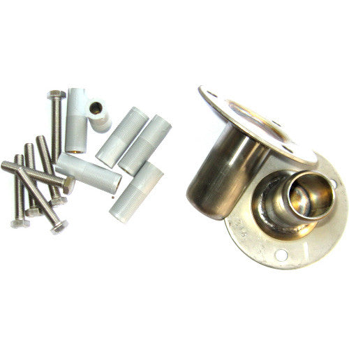 Flanged Mountings (2) with bolts and loxons - Poolshop.com.au