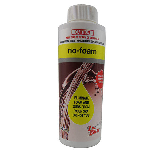 No Foam 500ml - Poolshop.com.au