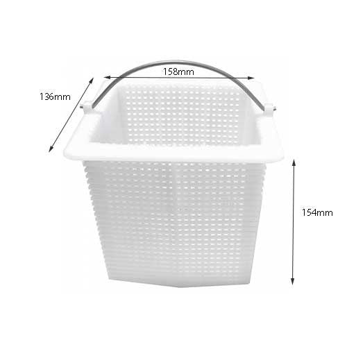 Poolrite SQi/PM Pump Basket - Poolshop.com.au