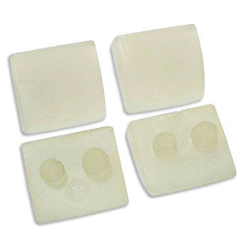 Set of 4 Shoes Clear (concrete) - Poolshop.com.au