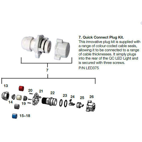 Quick Connect Plug Kit - Poolshop.com.au