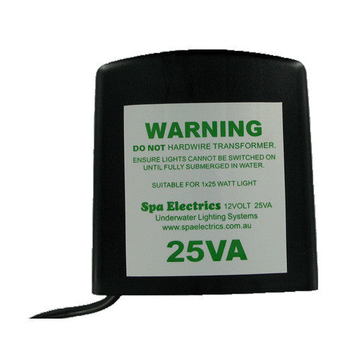 Spa Electrics 12v 25w Transformer - Poolshop.com.au