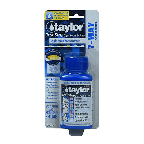 Taylor Test Strips - Poolshop.com.au