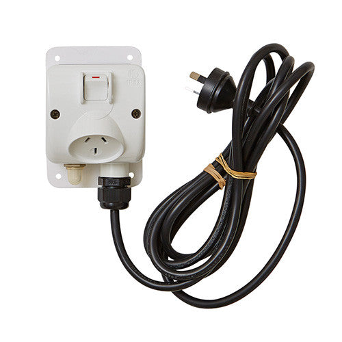 Turmion 15amp Single Outlet - Poolshop.com.au