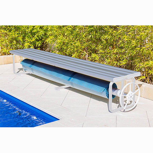 Daisy Under Bench Rollers - Aluminium - Poolshop.com.au