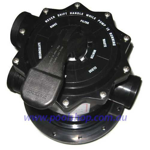 Waterco Filter Multiport Valve - 50mm - Poolshop.com.au